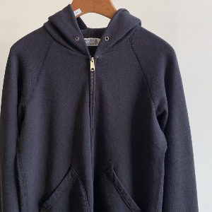 Velva Sheen 10oz Hooded W-Zip Sweat Black