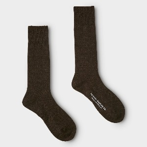 Phigvel Mil Wool Sox D.Brown