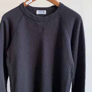 Velva Sheen 10oz Raglan Sweat Black