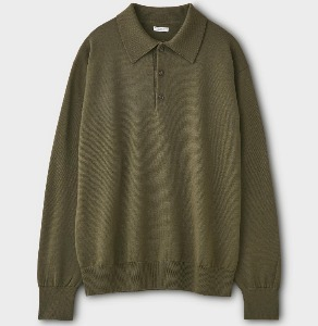 Phigvel Knit Polo Shirt Olive