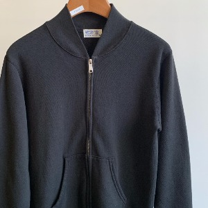 Velva Sheen 10oz Zip Jacket Black