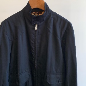 Haversack Poplin Blouson Jacket Black