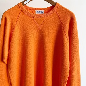 Velva Sheen 10oz Raglan Sweat Orange