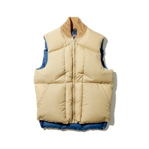 Rocky Mountain Featherbed GT Down Vest Tan