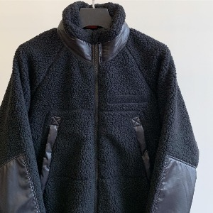 IDEAEND Grizzely Fleece Jacket Black