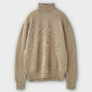 Phigvel Turtleneck Sweater Smoke Beige