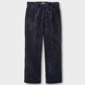 Phigvel Corduroy Wide Trousers Ink Navy