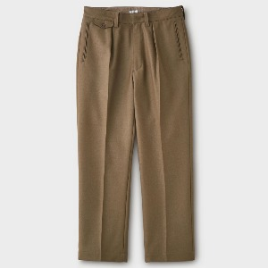 Phigvel Goodman's Wide Trousers Tobacco