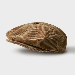 Phigvel Old Sporting Cap Corduroy Khaki Brown
