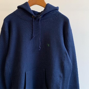 Champion Reverse Weave ® 11.5oz Blue Tag Pullover Hooded Sweatshirt Dark Navy