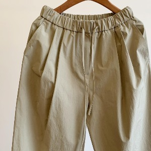 Amomento Drawstring Pants Olive (Women)