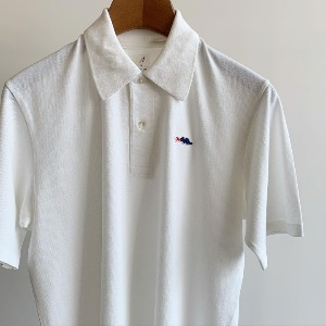 Anatomica X Braggin Dragon Polo Long Tail White