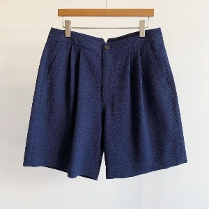 Le 17 Septembre Homme / 917 Navy Wide Basic Shorts