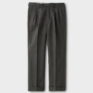 Phigvel Gent's Wide Trousers Glen Check