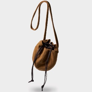 Phigvel Drawstring Bag Small Khaki Brown