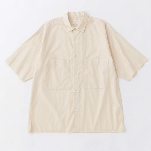 Phlannel Summer Box Shirt Cream (Mens)