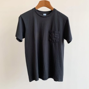 Velva Sheen Tubular Pocket T-Shirt Black