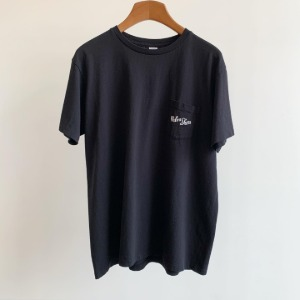 Velva Sheen Logo Pocket T-Shirt Black