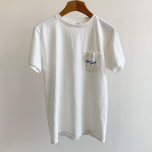 Velva Sheen Logo Pocket T-Shirt White