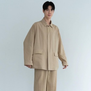 Le 17 Septembre Homme / 917 Over-sized Jacket D.Beige