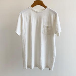 Velva Sheen Tubular Pocket T-Shirt White