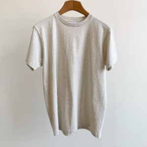 Velva Sheen Tubular T-Shirt Oatmeal