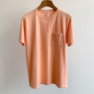 Velva Sheen Pigment Pocket T-Shirt Sunrise