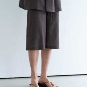 Le 17 Septembre Homme / 917 Mid-calf Length Pants D.Brwon