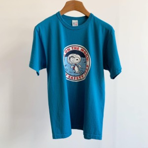 Buzzrickson X Peanuts S/S T-shirt Turquoise