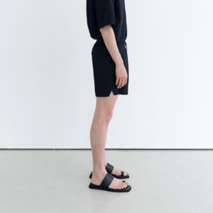 Le 17 Septembre Homme / 917 Seersucker Shorts Navy