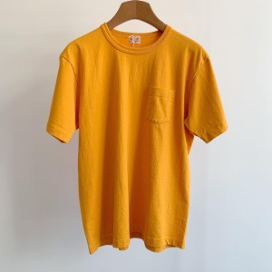 Whitesville Tubular Pocket T-shirt Gold