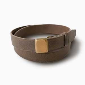 Phigvel Hickok Belt M.Brown x Brass