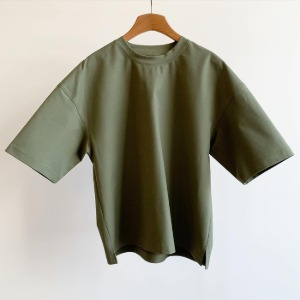 Le 17 Septembre Homme / 917 Heavy Cotton Short Sleeve T-shirt Khaki