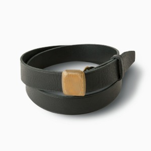 Phigvel Hickok Belt Black x Brass