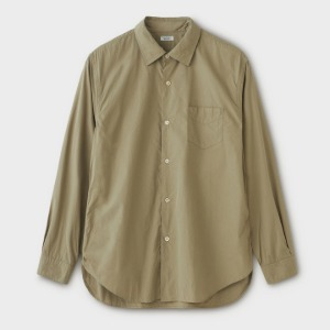 Phigvel Regular Collar Dress Shirt Khaki Beige