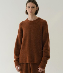 Le 17 Septembre Homme / 917 Wool Boucle Basic Sweater (2 Color)
