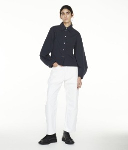 Studio Nicholson Mulder Shirt Dark Navy (Women)