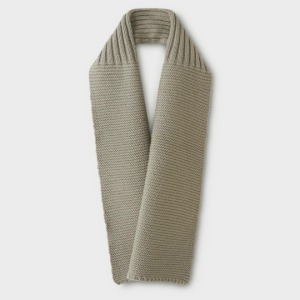 Phigvel Mil Neck Warmer Taupe Gray