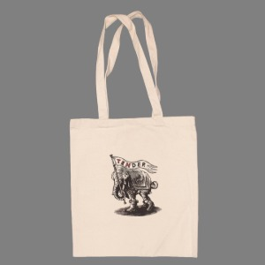 Tender & Co. Ten Years Screen Printed Tote Bag Ecru