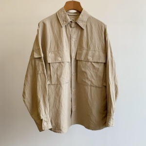 Kaptain Sunshine Field Shirt Jacket Safari Beige