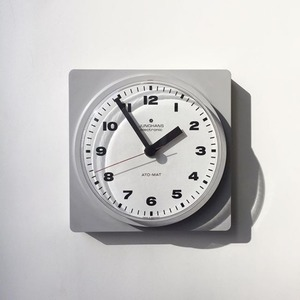 1970's Junghans Electronic Wall Clock Grey