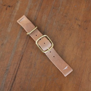 Tender & Co. 2 Piece Watch Strap Natural Tan