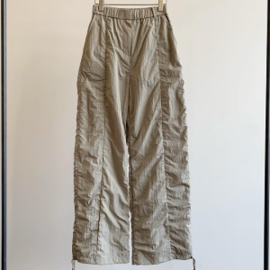 Amomento Shirred Pants Khaki
