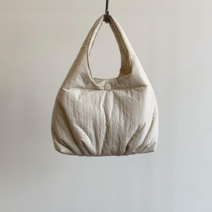 Amomento Padded Small Bag Beige