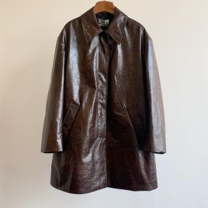 Amomento Tyvek Half Coat Brown