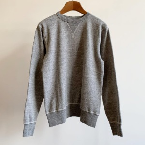 Buzzrickson Tubular Crew-neck Sweat Shirt H.Grey