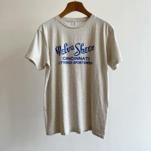 Velva Sheen Logo T-Shirt Oatmeal