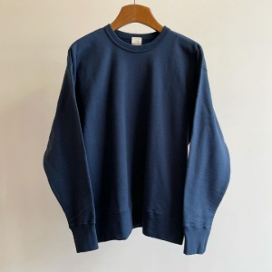 Phlannel SOL Suvin Cotton Sweatshirt Navy (Mens)