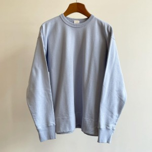 Phlannel SOL Suvin Cotton Sweatshirt Light Blue (Mens)