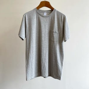 Velva Sheen Tubular Pocket T-Shirt H.Grey